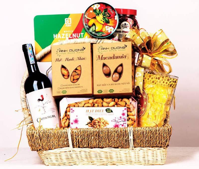 Tính sang trọng là rất cần thiết khi gói quà tặng