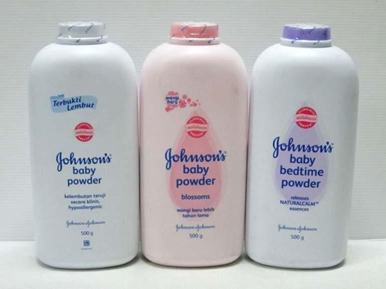 Phấn rôm cho em bé Johnson là thương hiệu uy tín