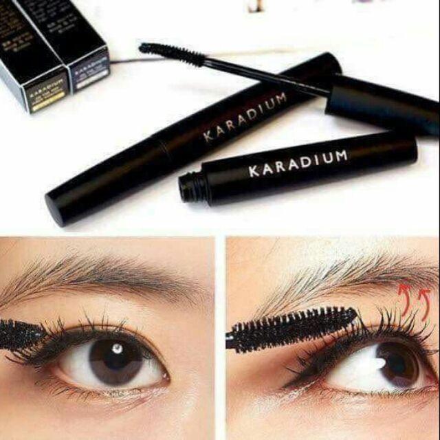 Thiết kế đầu cọ đặc biệt của Mascara Karadium On The Top Fiber