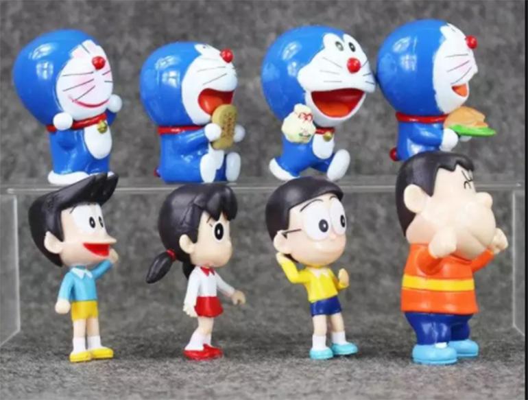 Các nhân vật trong bộ phim hoạt hình nổi tiếng Doremon