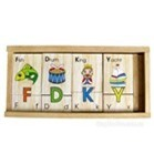 Đồ chơi gỗ Winwintoys 64312 - Bộ tìm chữ cái, Tiếng anh