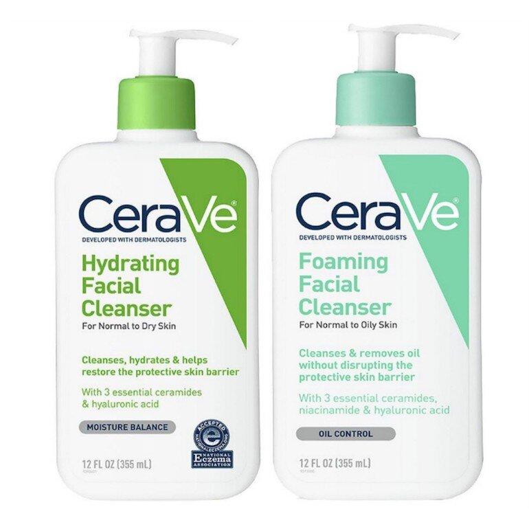 Giới thiệu về thương hiệu sữa rửa mặt Cerave