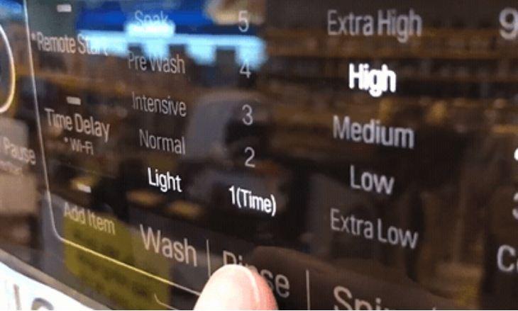 Tính năng giũ trên máy giặt LG F2721HTTV