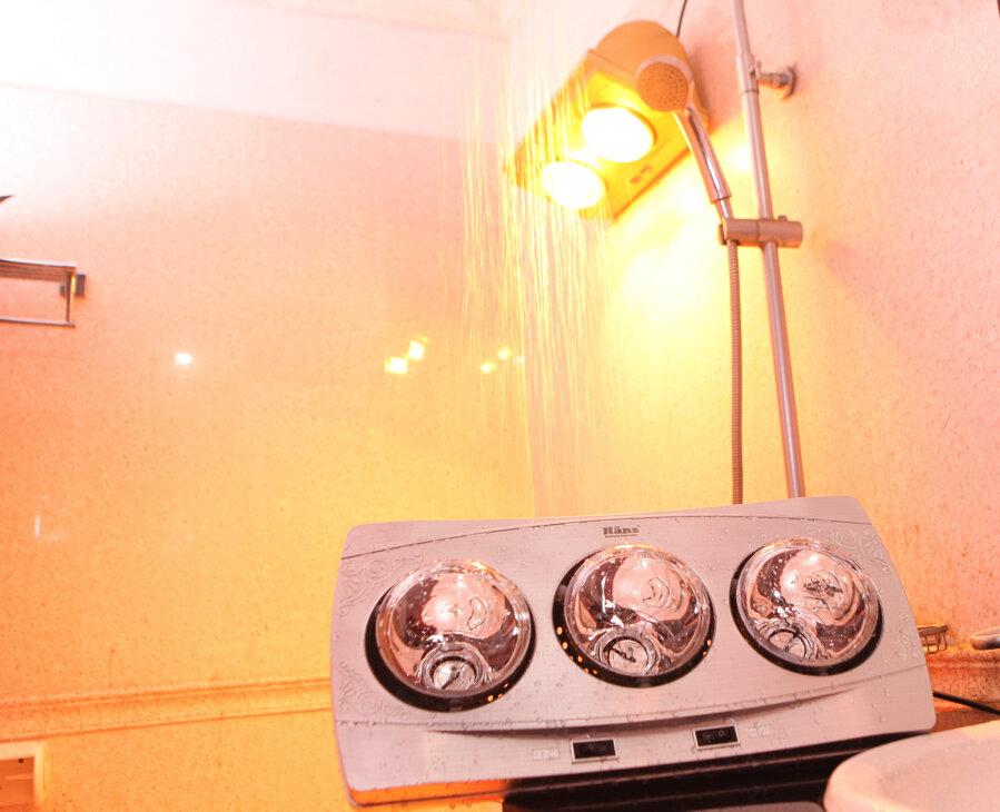 Đèn sưởi nhà tắm 3 bóng Bouken FJ 338S 825W