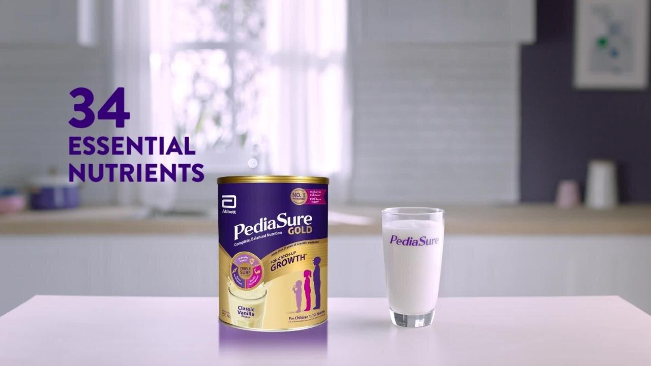 Sữa bột Abbott Pediasure BA là lựa chọn hàng đầu của nhiều bố mẹ cho con yêu