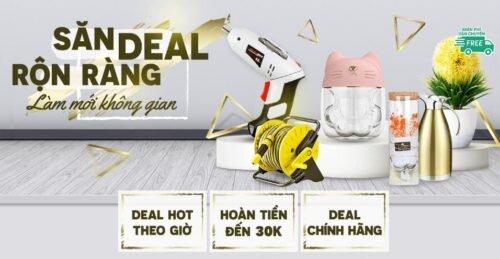 Siêu Sale 10.10 - Deal tuyệt vời - Hoàn tiền tới 30K - Freeship từ 49K