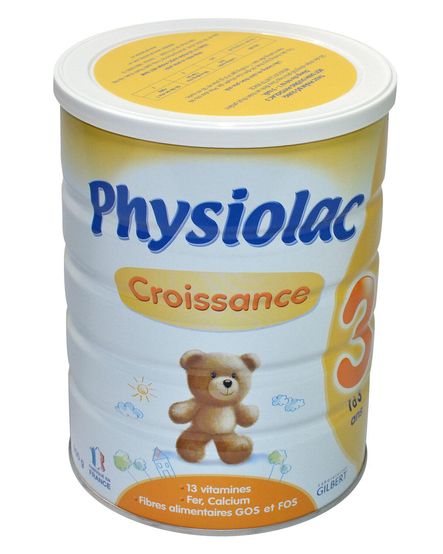 Sữa bột Physiolac 3ER - hộp 900g (12-36tháng)