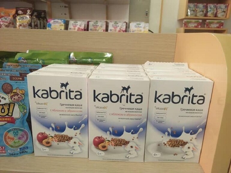Bột ăn dặm Kabrita