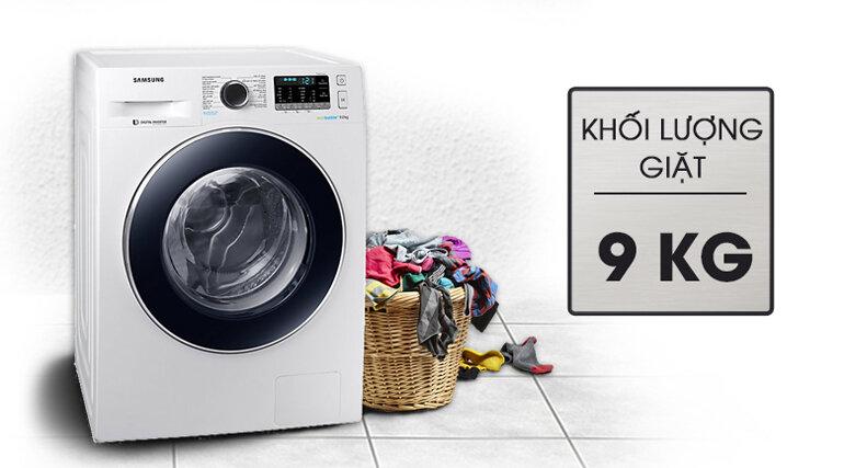 Chọn khối lượng máy giặt phù hợp
