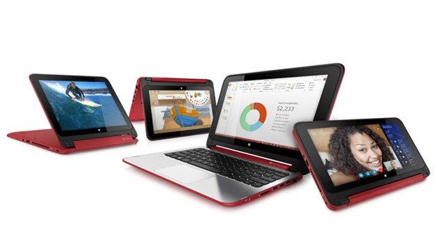 HPs Pavilion x360 convertible has a low price, decidedly Yoga-like design