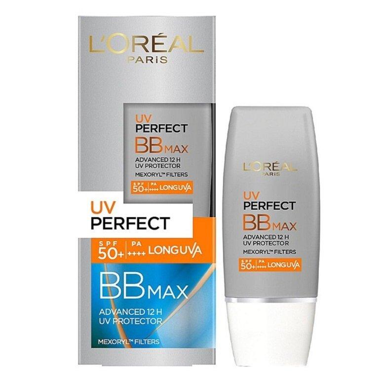 Kem chống nắng Loreal UV Perfect BB Max