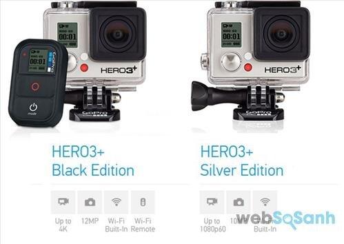 camera action du lịch Hero3+