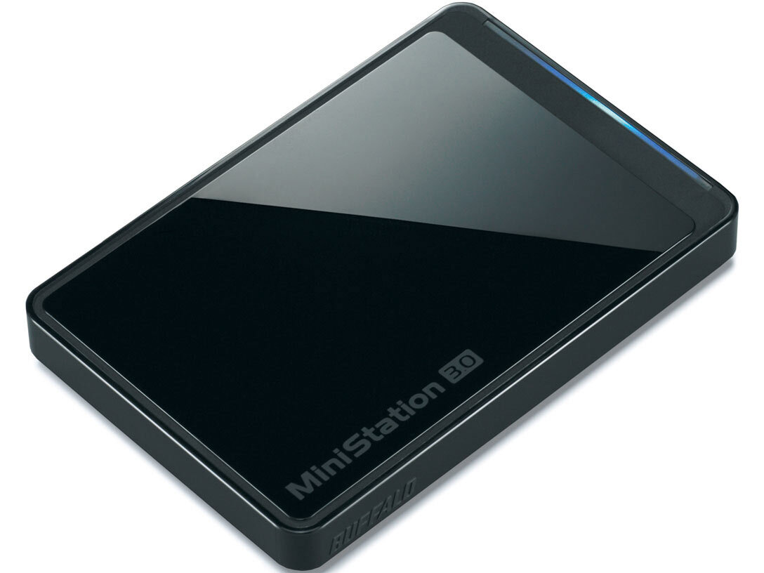 Ổ cứng cắm ngoài Buffalo MiniStation Plus USB 3.0 1TB