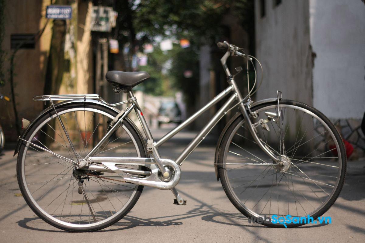 Xe đạp khung nhôm rất phổ biến tại Việt Nam