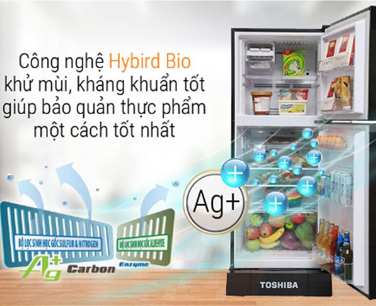 Tủ lạnh Toshiba Inverter 186 lít GR-M25VMBZ(UKG)