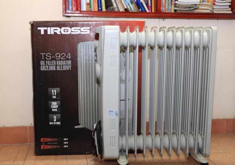 Máy sưởi dầu Tiross là thương hiệu nổi tiếng và uy tín