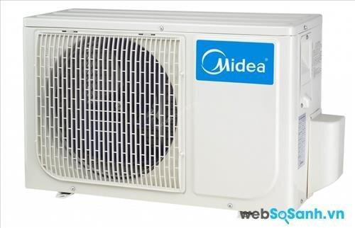 Điều hòa Midea không mấy ấn tượng khi làm lạnh ở diện tích phòng lớn