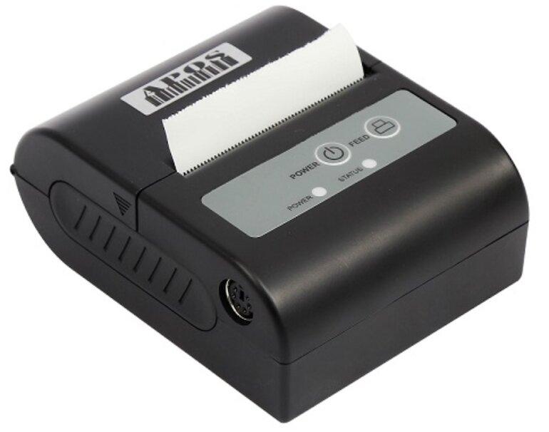 Máy in hóa đơn Bluetooth giá rẻ APOS - P100 có thể kết nối đa thiết bị