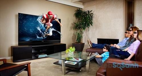 Xem hình ảnh tivi 3D