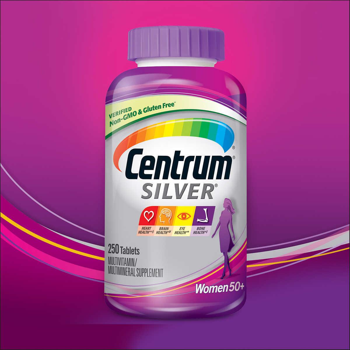 Thuốc Centrum for women 50+ bổ sung dưỡng chất cho phụ nữ trên 50 tuổi