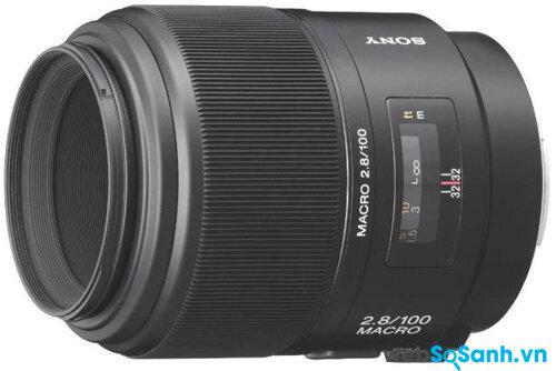 Ống kính Sony 100mm f / 2.8 Macro
