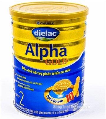 Sữa Dielac Alpha Gold step 2 - 900g, (cho trẻ từ 6- 12 tháng tuổi)