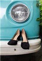 Giày Cao Gót Đế Vuông Mũi Tròn cung cấp bởi Kims Shoes & Accessories