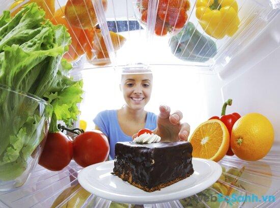hệ thống làm lạnh Minus - Zero giúp thực phẩm không bị khô