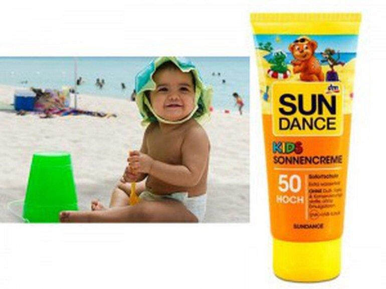 Kem chống nắng Sundance Kids