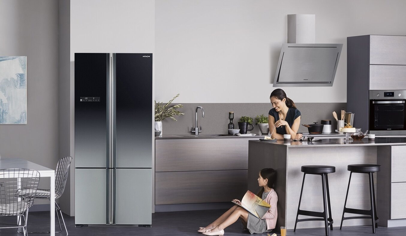 Dòng tủ lạnh Side by Side sang trọng