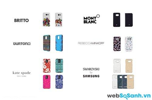 Các ốp điện thoại từ các thương hiệu thiết kế nổi tiếng