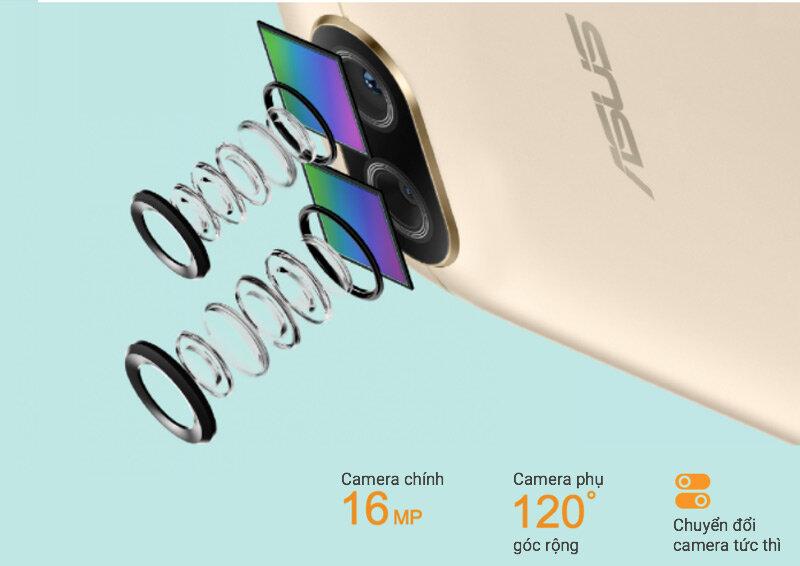 Hệ thống camera là điểm cộng sáng giá của Zenfone 4 Max Pro