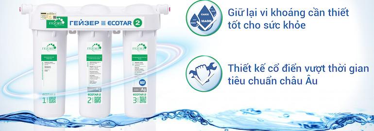 Lựa chọn bình lọc nước gia đình theo công nghệ lọc nước
