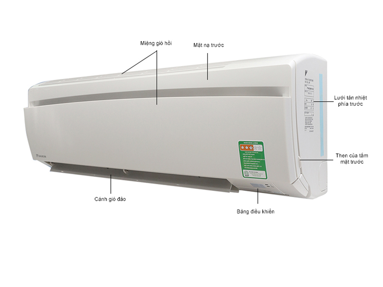Điều hòa đaikin 12000 1 chiều inverter FTKC35PVMV