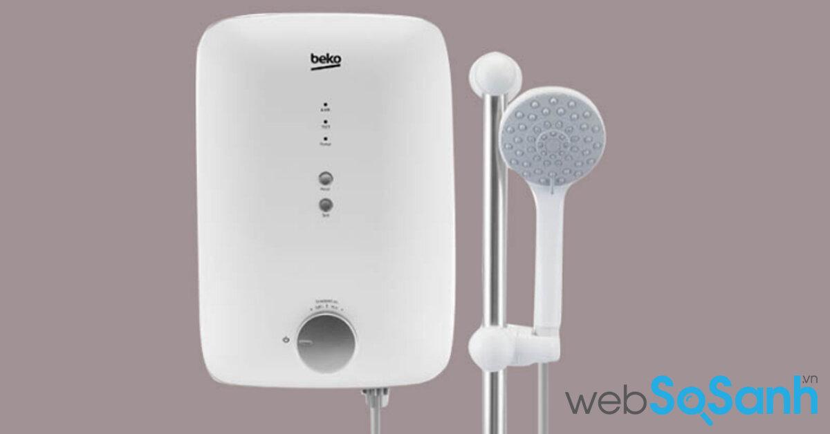 Máy nước nóng - Bình tắm nóng lạnh Beko có tốt không ? Giá bao nhiêu ? Mua ở đâu giá rẻ nhất ?