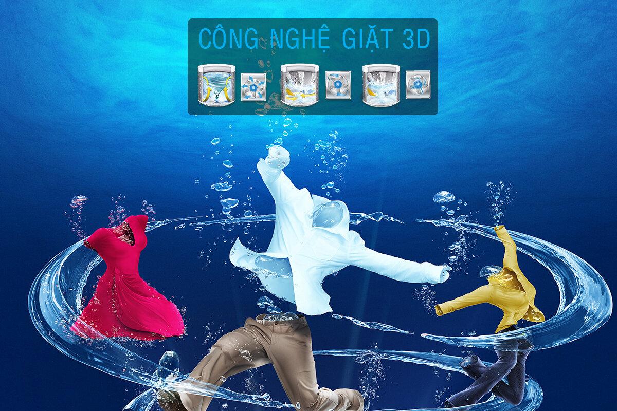 Công nghệ giặt 3D