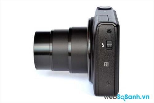Máy ảnh compact Canon PowerShot SX600 HS tích hợp sẵn wifi và NFC, để người dùng chia sẻ ảnh sang các thiết bị di động, hoặc in ảnh trực tiếp từ máy ảnh