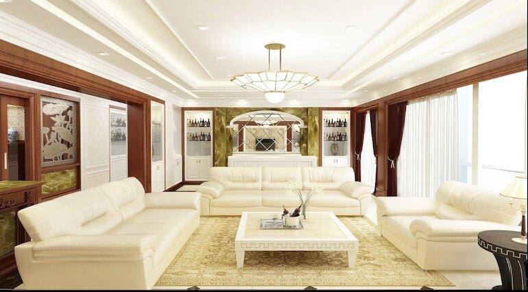 Tính ứng dụng của nội thất phòng khách tân cổ điển