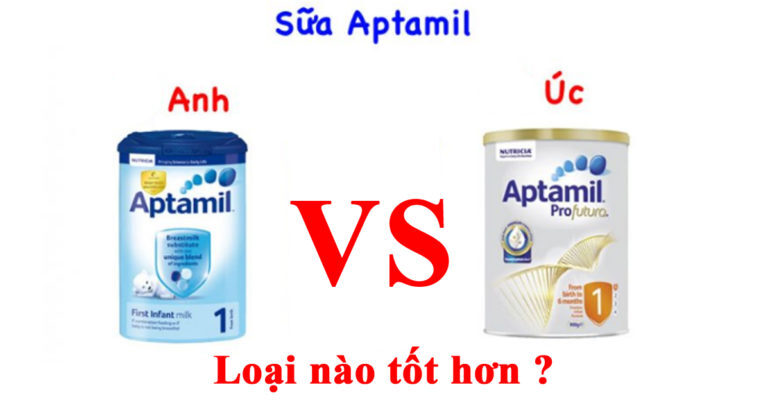 Sữa Aptamil Úc và Anh loại nào tốt hơn ?
