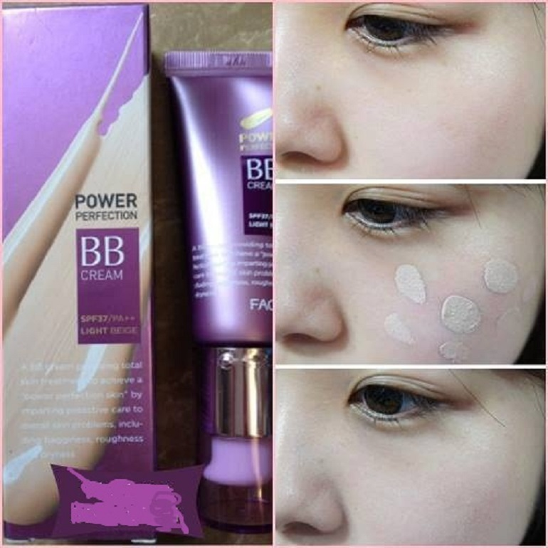 Kem nền chống nắng The Face Shop Power Perfection BB Cream SPF 37 PA++
