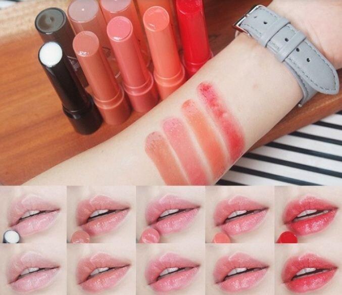 Bảng màu son dưỡng 3ce Plumping lips