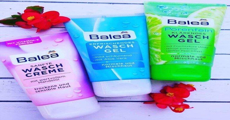 Đôi nét về thương hiệu sữa rửa mặt Balea