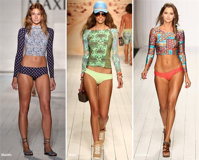 Spring/ Summer 2016 Swimwear Trends: Long-Sleeve Swimsuits