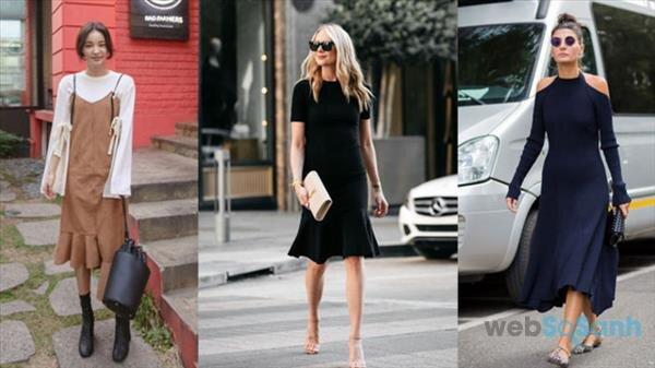 Chọn váy đuôi cá liền đa-zi năng theo nàng đến công sở và xuống phố