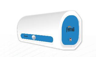 Bình tắm nóng lạnh gián tiếp Ferroli QQ TE - 30 lít, 2500W, chống giật