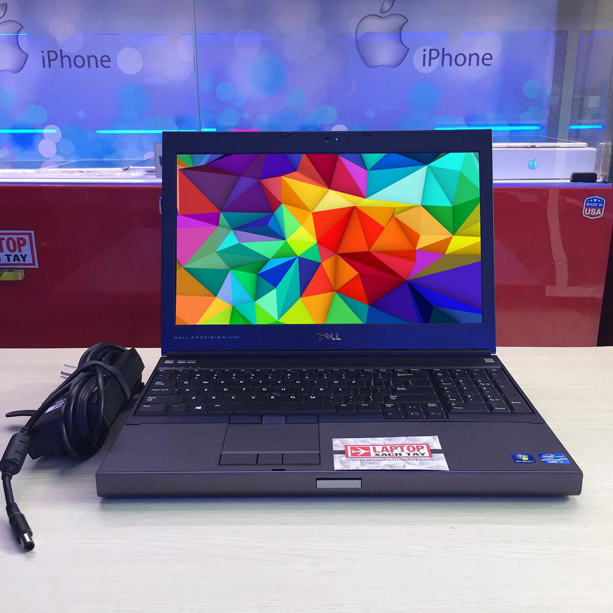 Dell Precision M4700 gây ấn tượng ngay từ vẻ ngoài mạnh mẽ của nó