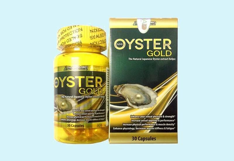 Tinh chất hàu Oyster Gold cải thiện cơ bắp cho người tập thể hình