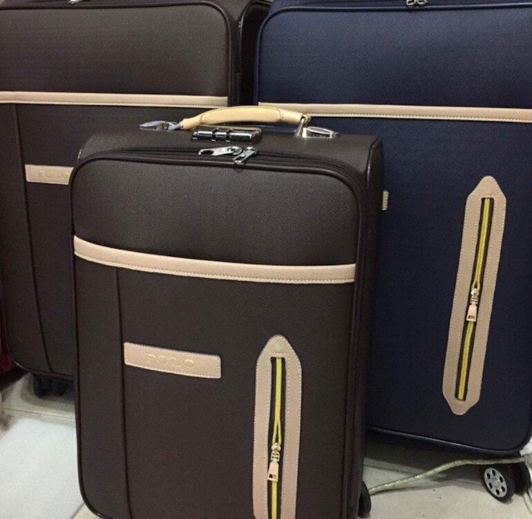Dòng vali bằng vải dù siêu nhẹ