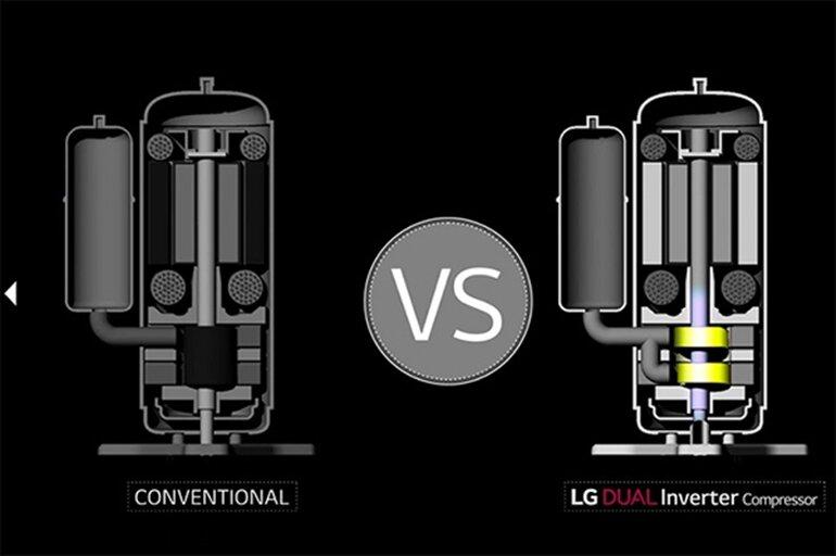 dual cool inverter là gì