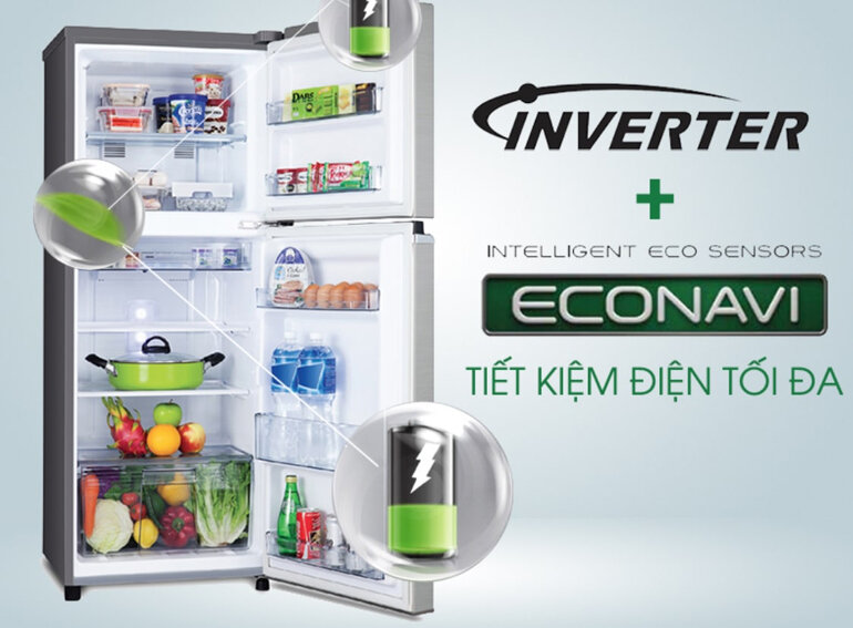 Chọn tủ lạnh công nghệ inverter tiết kiệm điện